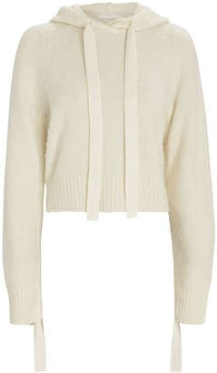 Helmut Lang Hooded Wool-Blend Sweater
