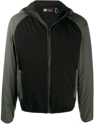 Ermenegildo Zegna Panelled Windbreaker Jacket