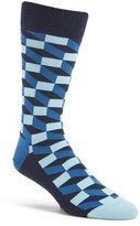 Happy Socks Men's Geometric Cotton Blend Socks
