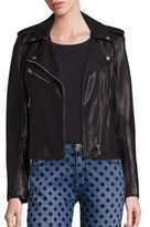 Current/Elliott The Roadside Leather Moto Jacket