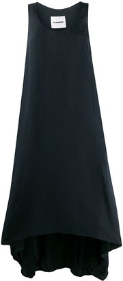Jil Sander wide fit maxi dress