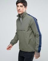 Farah Donnelly Overhead Rain Jacket 2 Color in Green