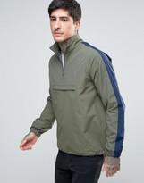 Farah Donnelly Overhead Rain Jacket 2 Colour In Green