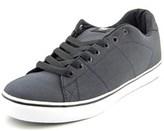 DVS Shoe Company Gavin Ct Men Round Toe Canvas Black Skate Shoe.