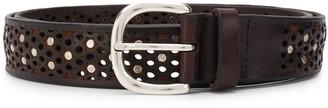 Orciani Stud-Embellished Belt