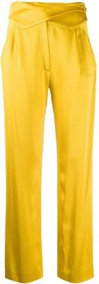 BLAZÉ MILANO Lapel Buttoned Waistband Trousers