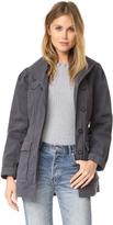 Rebecca Taylor Stretch Twill Coat