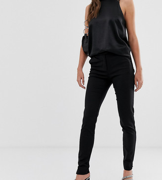 Ecco Y.A.S Tall tailored ankle length cigarette pants in black