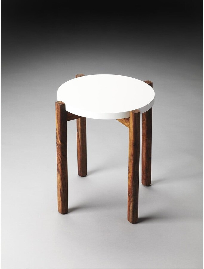 Thumbnail for your product : Butler Handmade Del Mar Painted Wood End Table