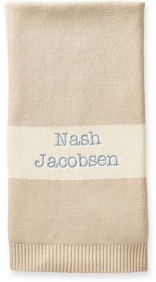 Mark And Graham Cotton Cashmere Blend Stroller Blanket