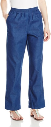 Alfred Dunner Women's Petite Short Denim Pant