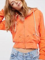 Cotton Citizen Milan Cropped Zip Hoodie by at Free People