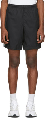 adidas Black 3-Stripes Ripstop Shorts