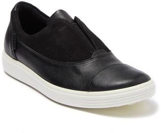 Ecco Soft 7 III Leather Slip-On Sneaker