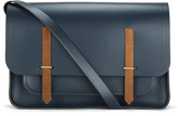 The Cambridge Satchel Company Bridge Closure Messenger Bag Navy/tan