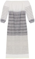 Lemlem Almaz striped off-the-shoulder dress