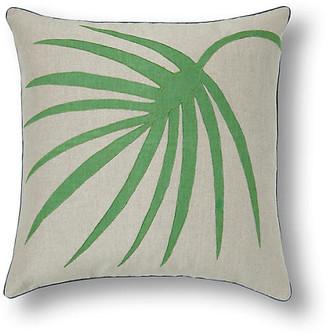 Joanna Buchanan Green Palm Frond 20x20 pillow - Green