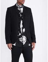 Ann Demeulemeester Textured Linen Jacket