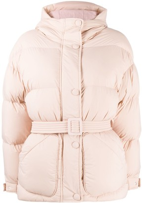Ienki Ienki Michlin belted puff jacket