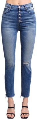 Mother Pixie Dazzler High Waist Cotton Jeans