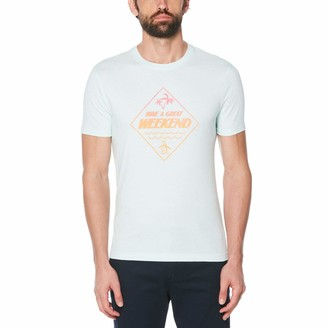 Original Penguin Have a Great Weekend Ombre Tee