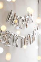 Urban Outfitters Happy Birthday Metallic Party Balloon Kit