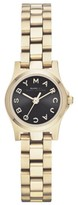 Marc by Marc Jacobs MBM3257 Gold Tone Stainless Steel Logo Watch