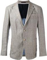 Z Zegna two-button jacket - men - Linen/Flax/Cupro - 50