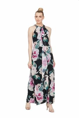 SL Fashions Women's Jewel-Neck Sheath Dress