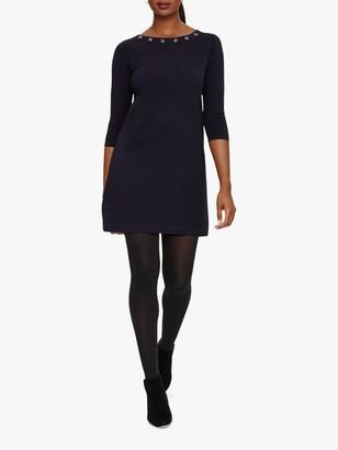 Phase Eight Esmerelda Eyelet Knit Dress