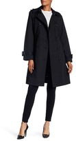 London Fog Hooded Trench Coat