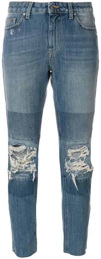 IRO distressed slim fit jeans