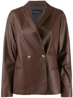 Fabiana Filippi Double-Breasted Jacket