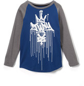 Zoo York Federal Blue Drip Kings Raglan Tee - Boys
