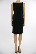 Joseph Ribkoff Jewel Accented Black Dress