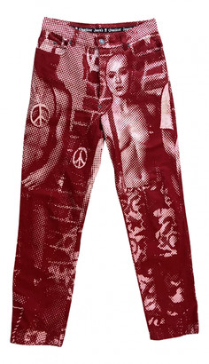 Jean Paul Gaultier Red Denim - Jeans Trousers