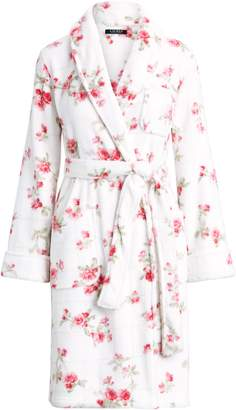 Ralph Lauren Floral Fleece Robe