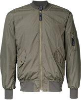 Factotum zip up bomber jacket