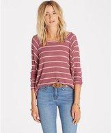 Billabong Women's Wound up Striped Knit Top