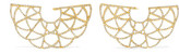 Amrapali Zardozi 18-karat Gold Diamond Earrings - one size