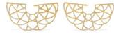 Amrapali Zardozi 18-karat Gold Diamond Earrings