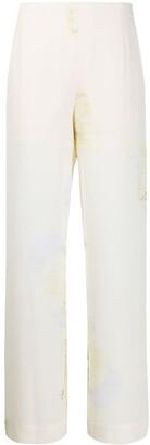 Baum und Pferdgarten Floral-Print Pull-On Trousers