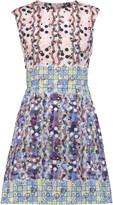 Peter Pilotto Printed silk mini dress