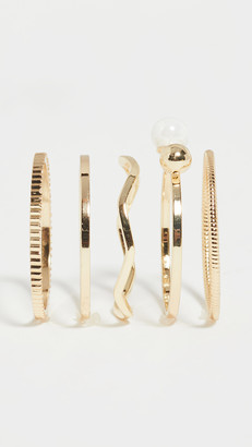 Jules Smith Designs Pearl Ring Set