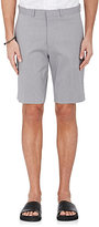 Theory Men's Striped Cotton-Blend Dress Shorts