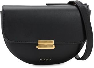 Wandler Anna Smooth Leather Shoulder Bag