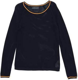 Velvet Navy Cotton Knitwear