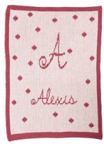 Butterscotch Blankees 'Polka Dot - Small' Personalized Stroller Blanket