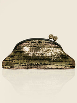 GUESS by Marciano Gold Foil Clutch