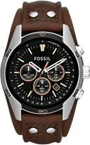 Fossil Ch2891 Coachman Brown Leather Watch